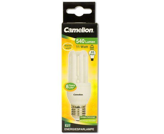 3u 11w e27 energiesparlampen led energiesparlampen produkte camelion. Black Bedroom Furniture Sets. Home Design Ideas