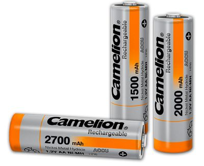 Aa Ni Mh Rechargeable Batteries Products Camelion