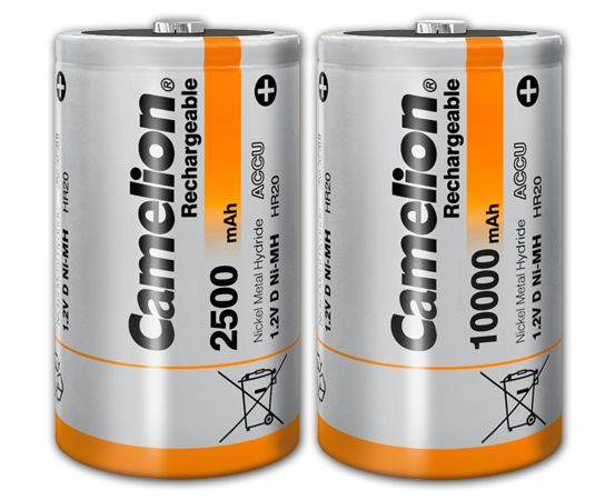 D Ni Mh Rechargeable Batteries Products Camelion