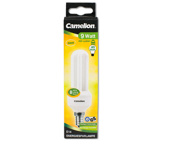 2u 9w e14 energiesparlampen led energiesparlampen produkte camelion. Black Bedroom Furniture Sets. Home Design Ideas